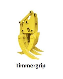 Timmergrip Minigrävare