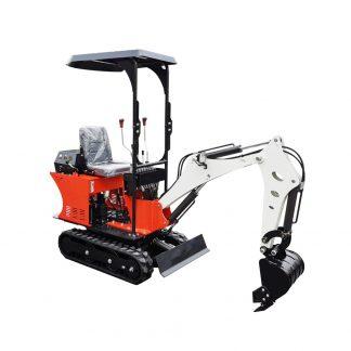billig minigrävare 800 kg 1 ton med skopa finns tillbehör som jordborr, rototilt, hydraulhammare, planeringsskopa, timmergrip mm